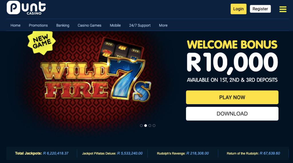 punt casino website